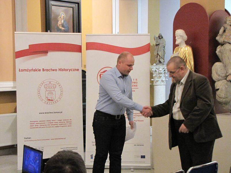 Damian Gietek szef Łomżyńskiego Klubu Myśli Patriotycznej