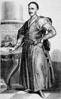 Stanisław Antoni Szczuka. ( Rysował Polkowski z obrazu olejnego, znajdującego się w galeryi wilanowskiej).