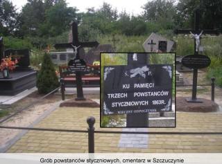 Grób powstańców styczniowych cmentarz w Szczuczynie