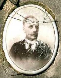 Józef Szaybo. Fotografia nagrobna
