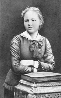 Maria Skłodowska.  Fot. Z 1883 roku