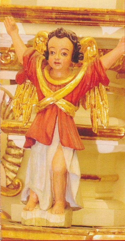 Elementy manierystycznego ołtarza (XVII) z cudownym obrazem Matki Bożej Łomżyńskiej 1
