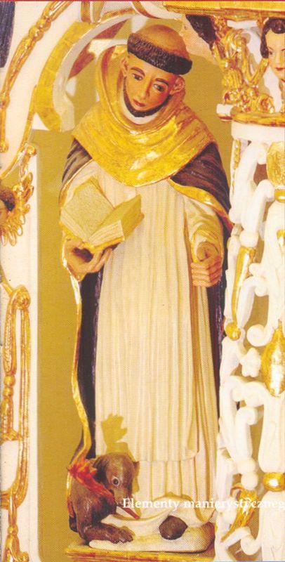 Elementy manierystycznego ołtarza (XVII) z cudownym obrazem Matki Bożej Łomżyńskie (XVI w.)j 4