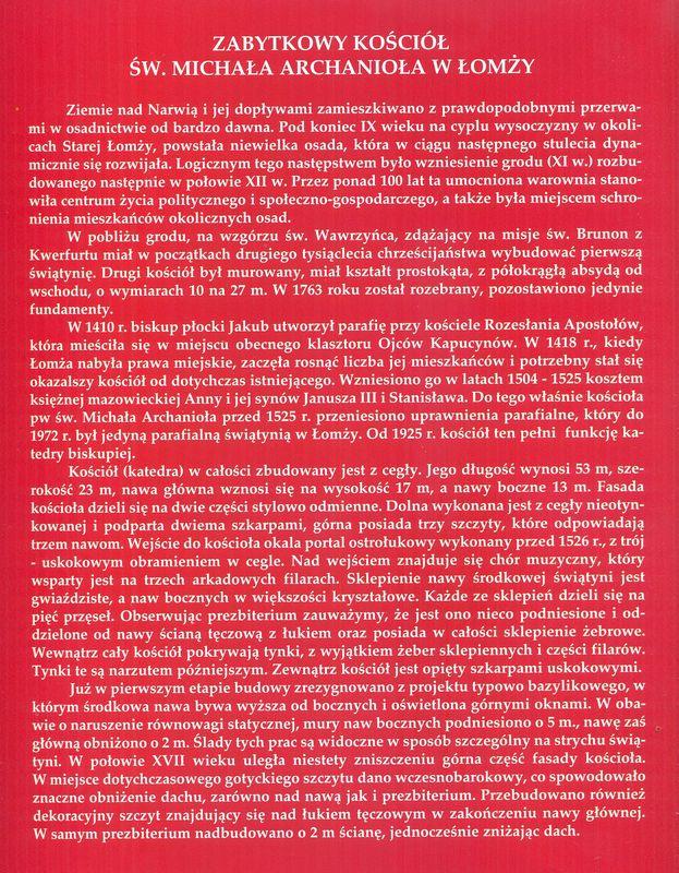 Historia kościoła św. Michała Archanioła w języku polskim