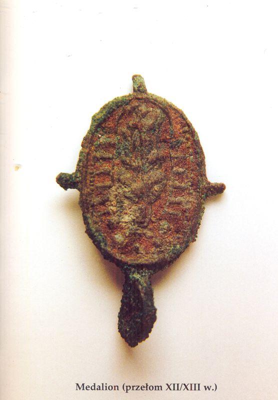 Medalion (przełom XII i XIII w.)