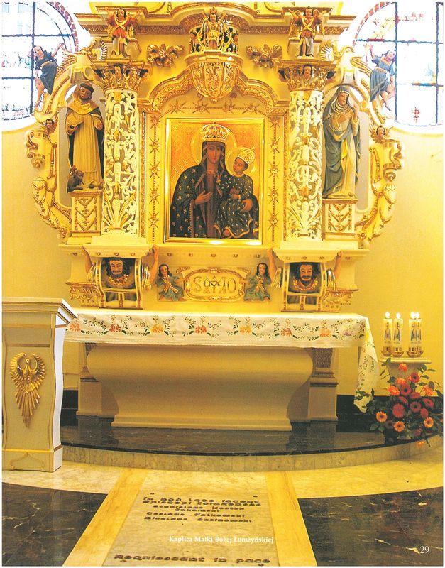 Ołtarz zobrazem Matki Bożej Łomżyńskiej