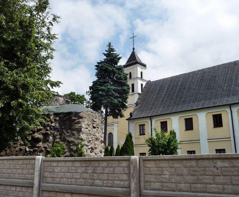 Widok na Opactwo Benedyktynek od strony zachodniej.