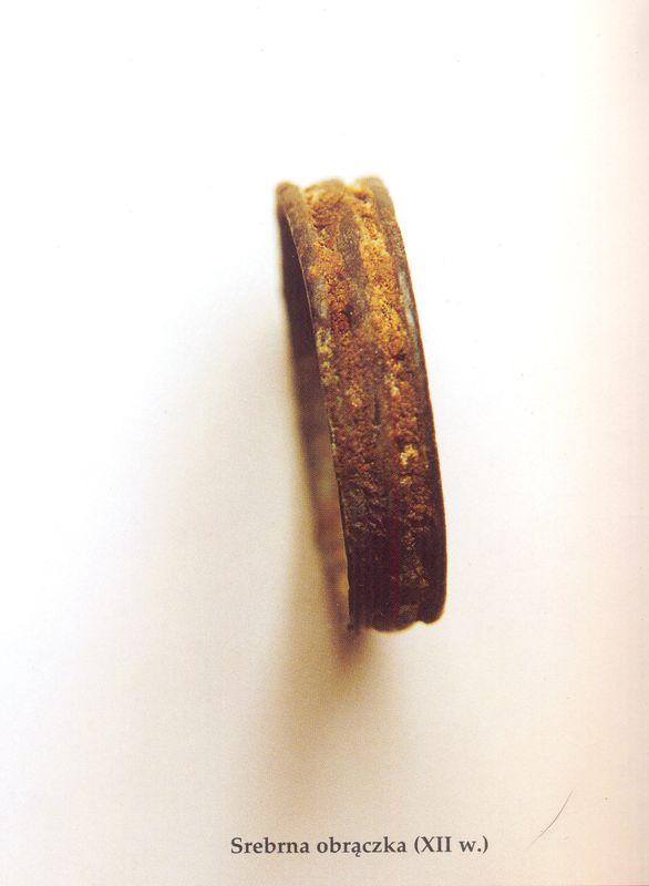 Srebrna obrączka (XII w.)
