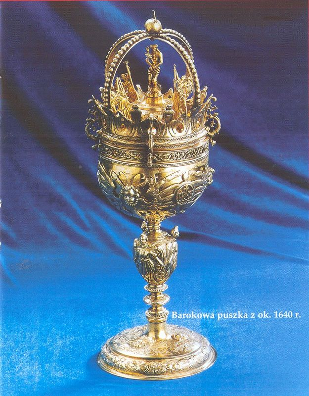 Barokowa puszka z ok. 1640 r