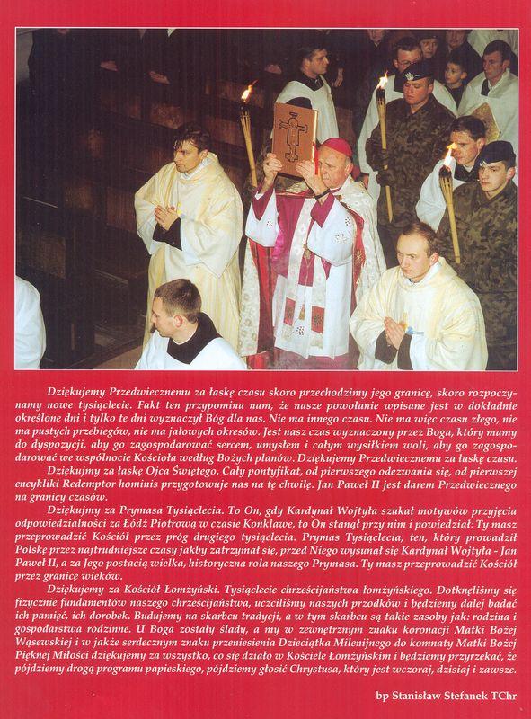 Jubileusz roku 2000. Uroczystości w Łomży 2