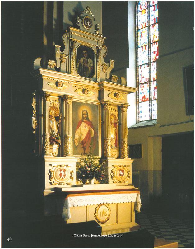 Ołtarz Serca Jezusowego (około 1600 r.)