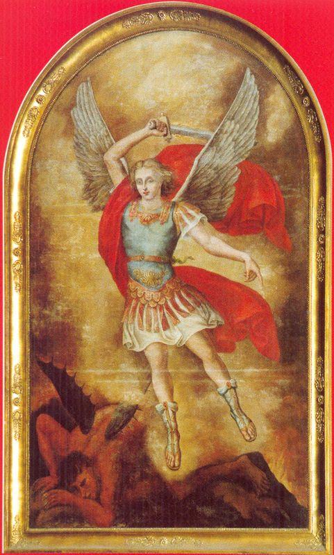 Obraz św. Michała Archanioła, patrona katedry