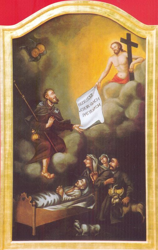 Obraz św. Roch, patrona katedry