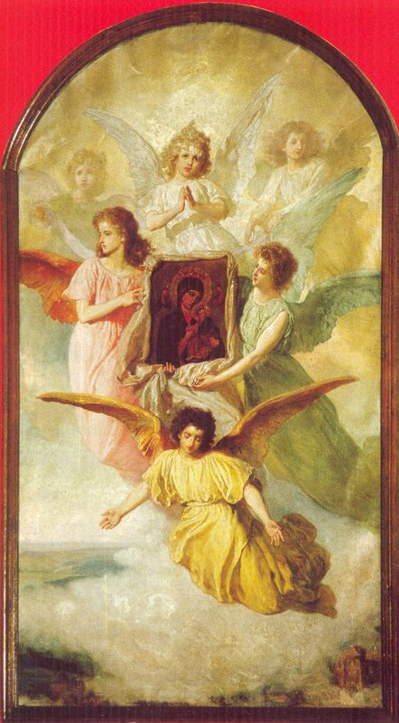 Obraz Matki Bożej Niestającej Pomocy (1900) r.), pędzla Wojciecha Gersona