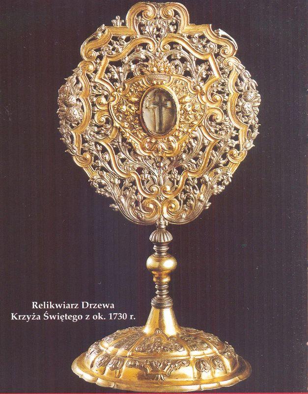 Relikwiarz Drzewa Krzyża Świętego
