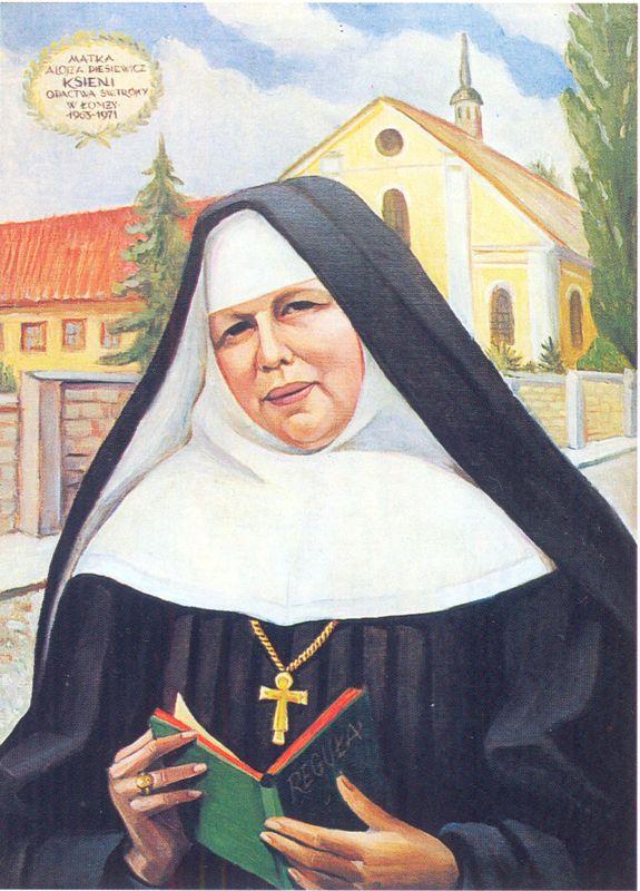 S.Alojza Piesiewiczówna (1902-1971). Portret S. Pauli Serafinow Opactwo w Żarnowcu