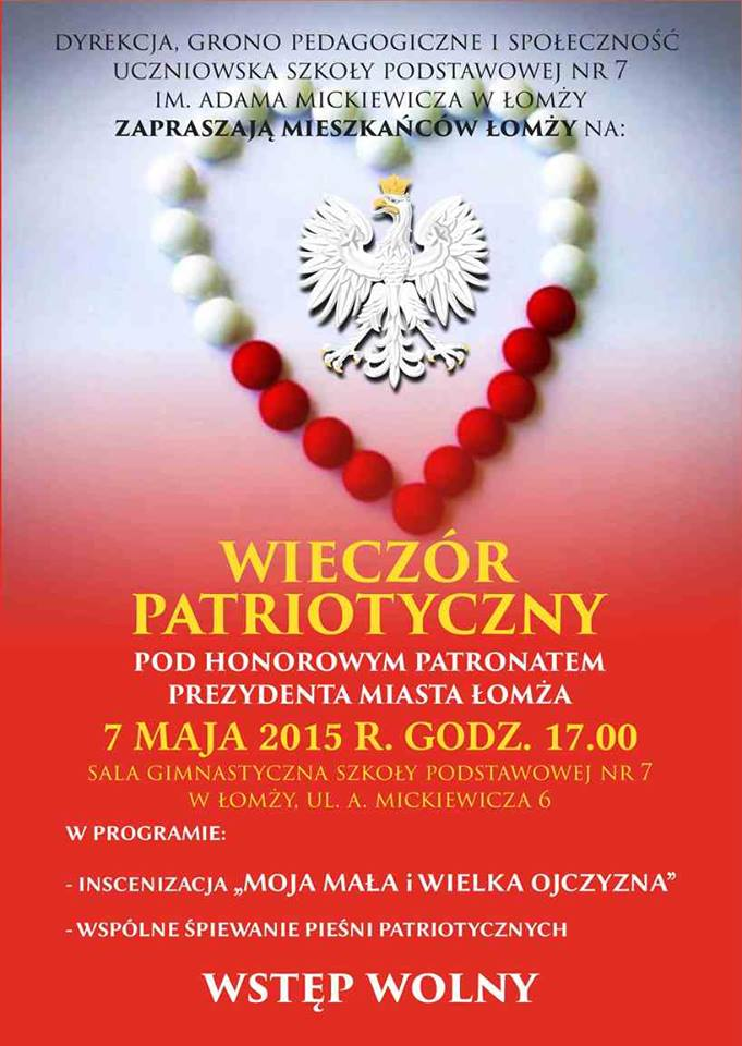 Wieczór Patriotyczny SP 7