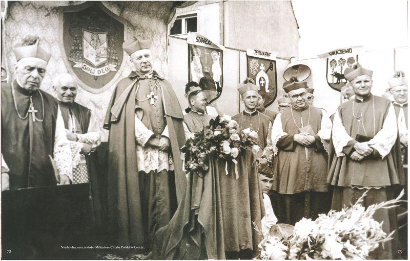 Niedzielne uroczystości Millenium Chrztu Polski w Łomży
