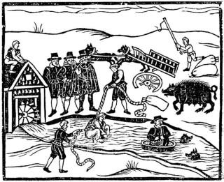 Pławienie czarownicy