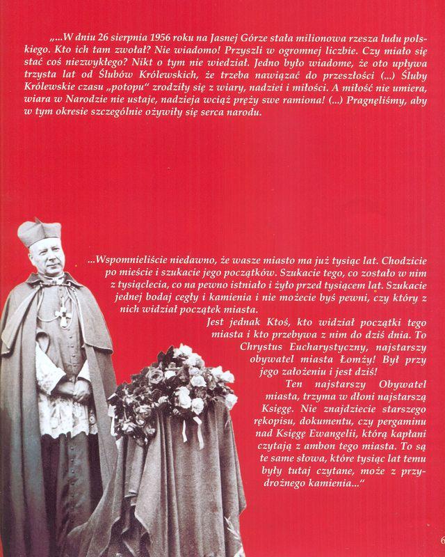 Słowa Kardynała Stefana Wyszyńskiego wypowiedziane w Łomzy