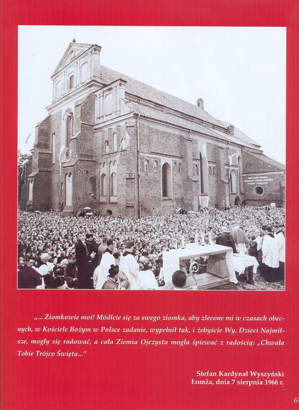 Kardynał Wyszyński Łomża, 7 sierpnia 1966 r