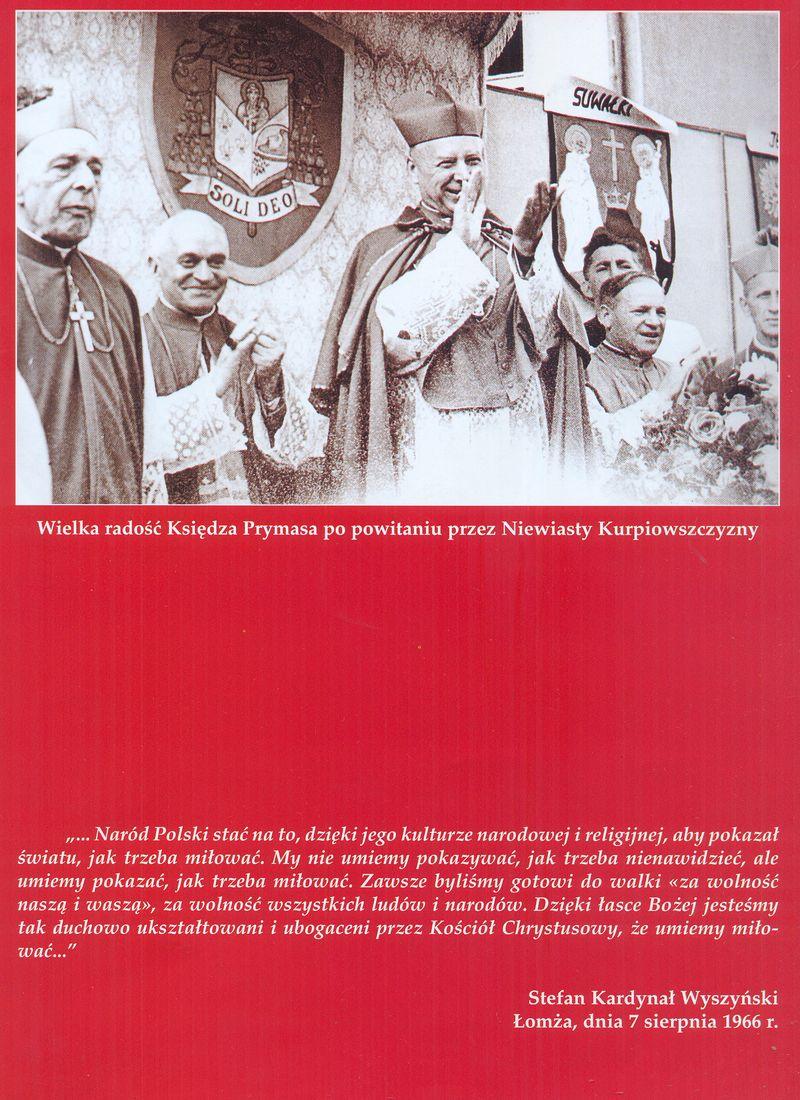 Wielka radość Księdza Prymasa po powitaniu przez Niewiasty Kurpiowszczyzny