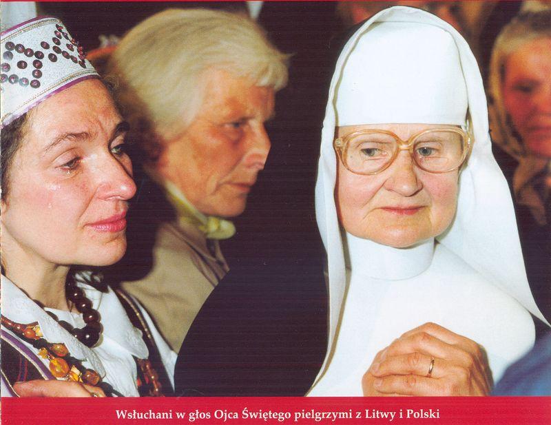 Pielgrzymi z Litwy i Polski