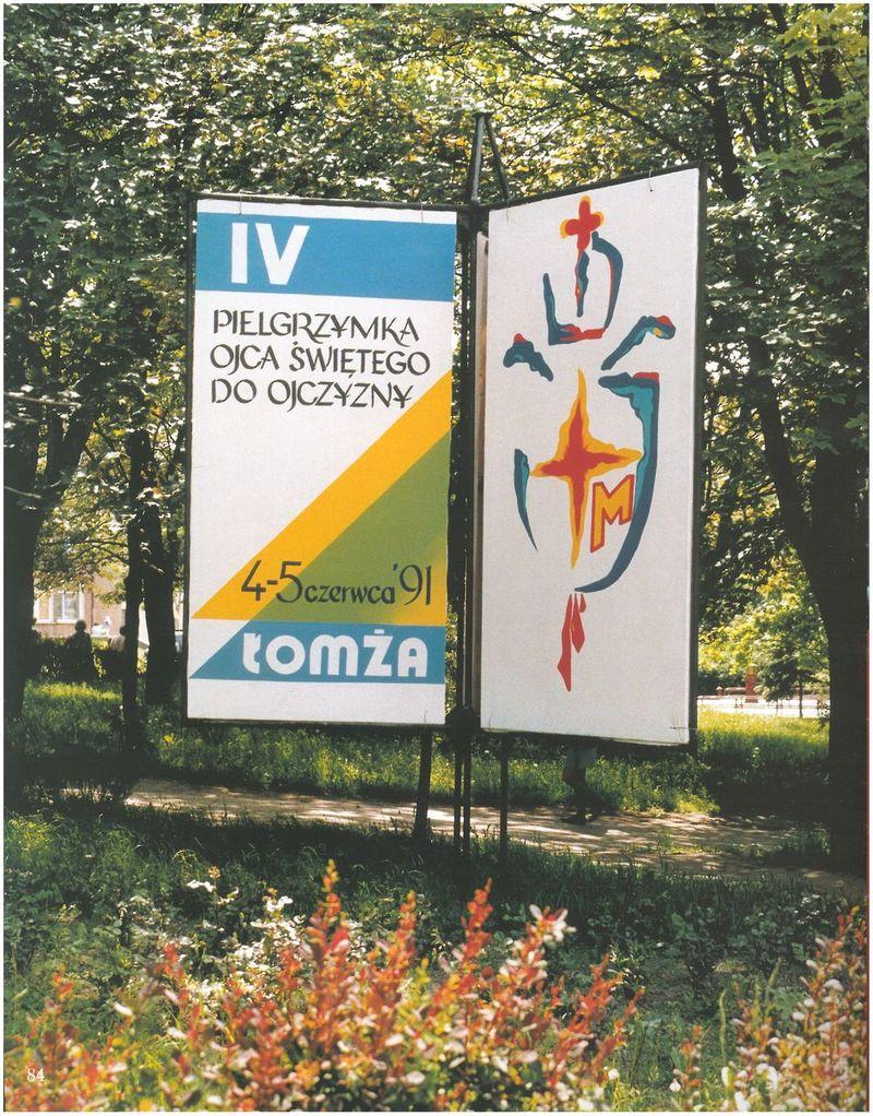 Zapowiedź pielgrzymki Papieża do Łomży