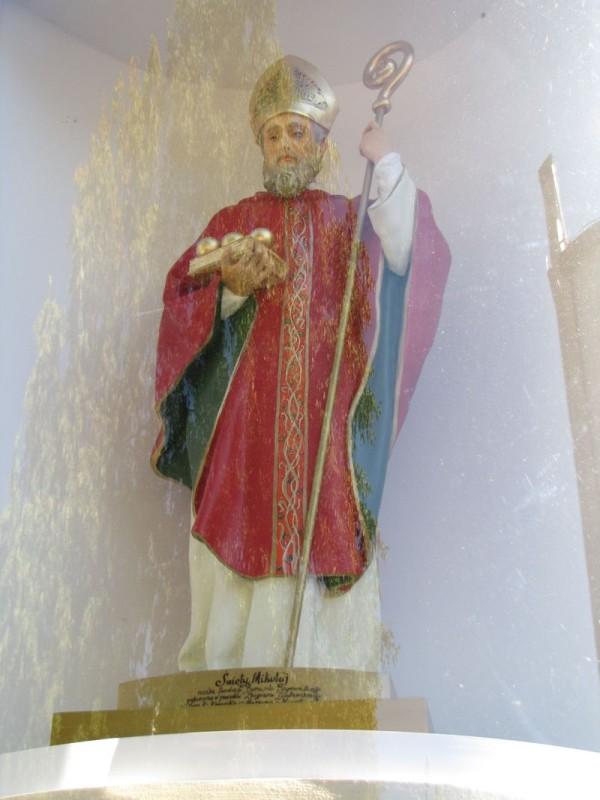 Rzeźba św. Mikołaja z 2015 r