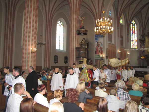 Odpust na św. Bartłomieja w Parafii pw. Przemienienia Pańskiego w Piątnicy