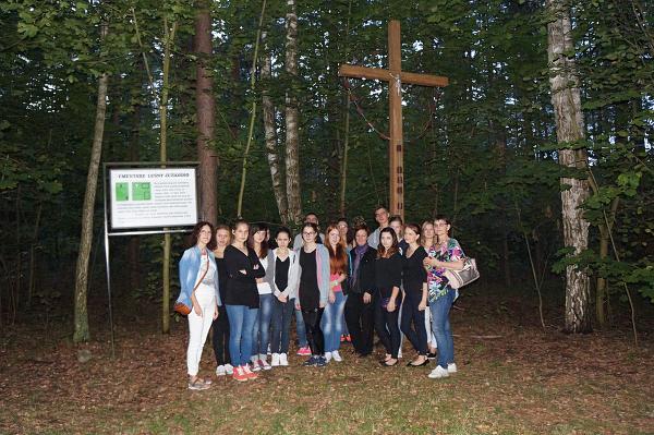 Leśna lekcja dla młodzieży 16 IX 2015 r.