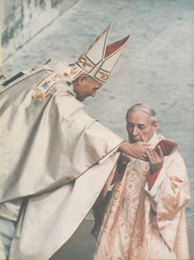 Jan Paweł II i Kardynał Sefan Wyszyński