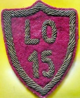 Tarcza szkolna LO 15
