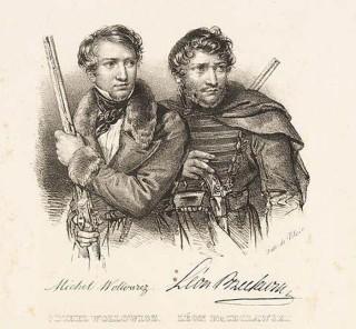 Michał Wołłowicz, Leon Przecławski