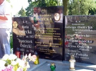 Nagrobek Osieckich
