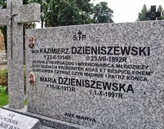 Nagrobek prof Dzieniszewskiego