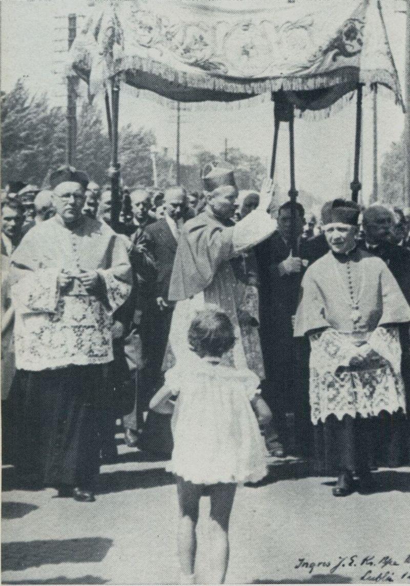 Ingres do katedry lubelskiej - 26 maja1946 r.