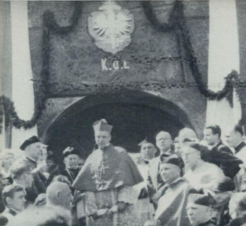 W dniu ingresu przy Katolickim Uniwersytecie Lubelskim.
