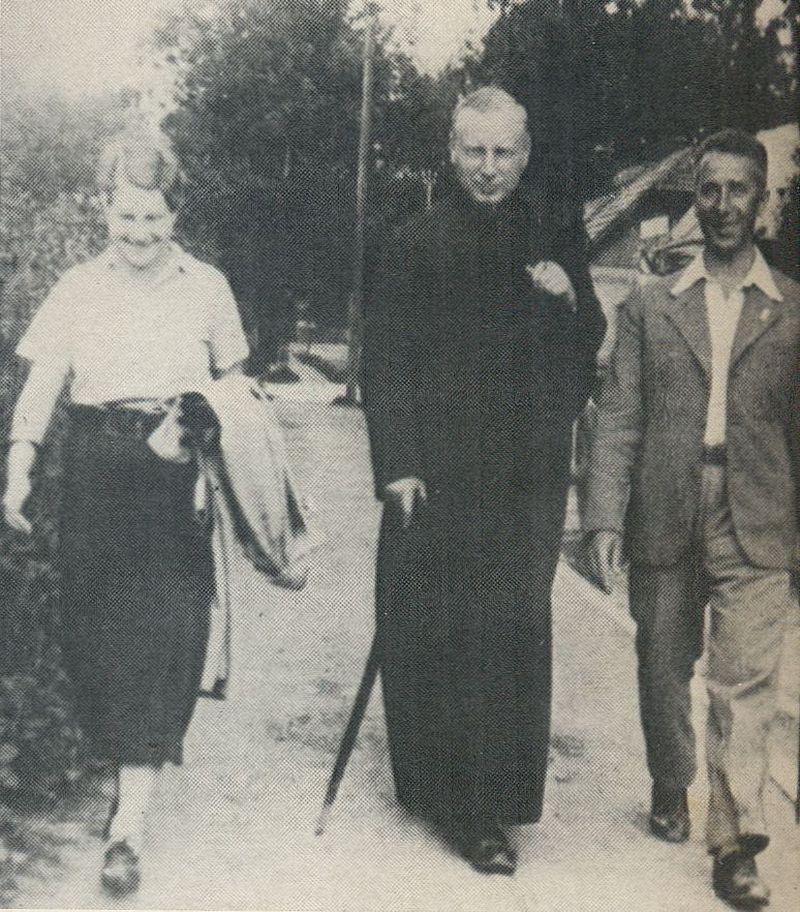 W drodze na Jaszczurówkę z Hanny i Romanem Kadzińskim.