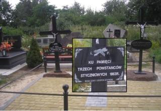 Grób Powstańców Styczniowych. Cmentarz w Szczuczynie.