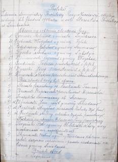 APB-Ł, Protokoły posiedzeń Powiatowej Rady Narodowej z lat 1944-1946, sygn.1, k.1