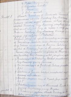 APB-Ł, Protokoły posiedzeń Powiatowej Rady Narodowej z lat 1944-1946, sygn.1, k.2 /lewa strona/