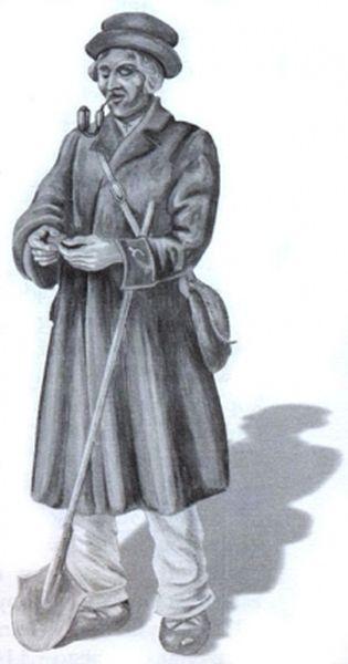 Bursztyniarz rys. A. Chętnika