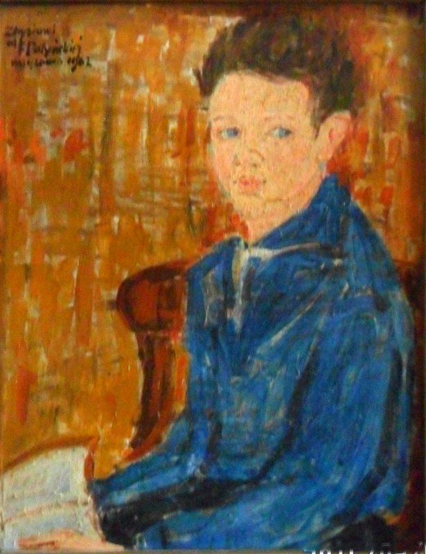 Portret autorstwa Felicji Potyńskiej przedstawiający Zbigniewa Błażewskieho