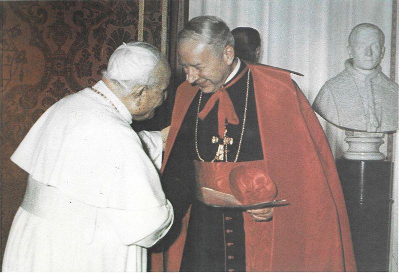 W serdecznej rozmowie z Papieżem Dobroci i Pokoju, wielkim przyjacielem Polski