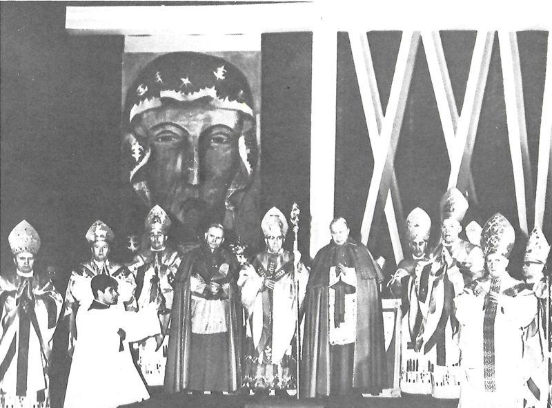 XXV lecie organizacji kościelnej na Ziemiach odzyskanych.