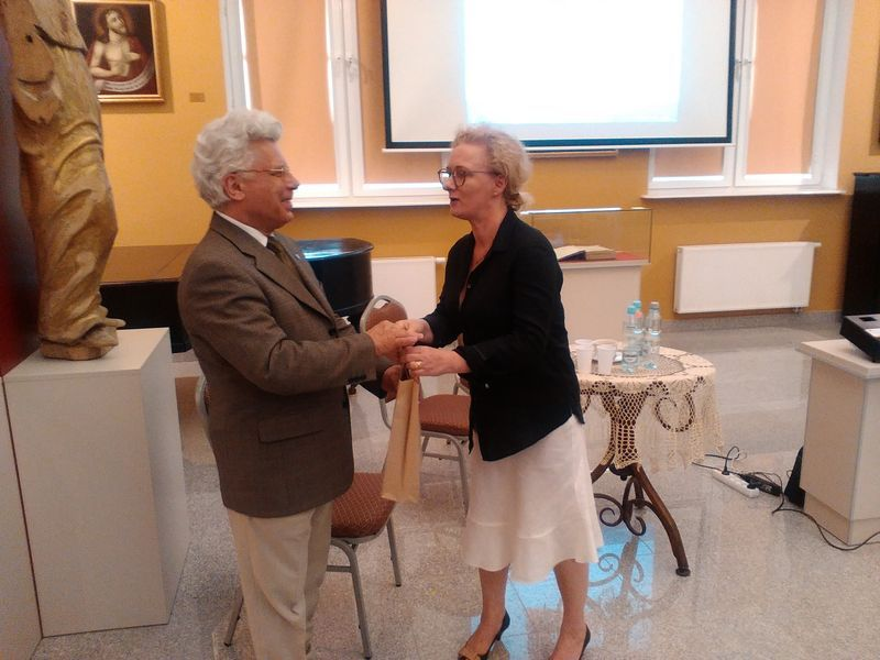 Prof. dr. hab. Wiesław Wysocki. Dr. Małgorzata Krystyna Frąckiewicz