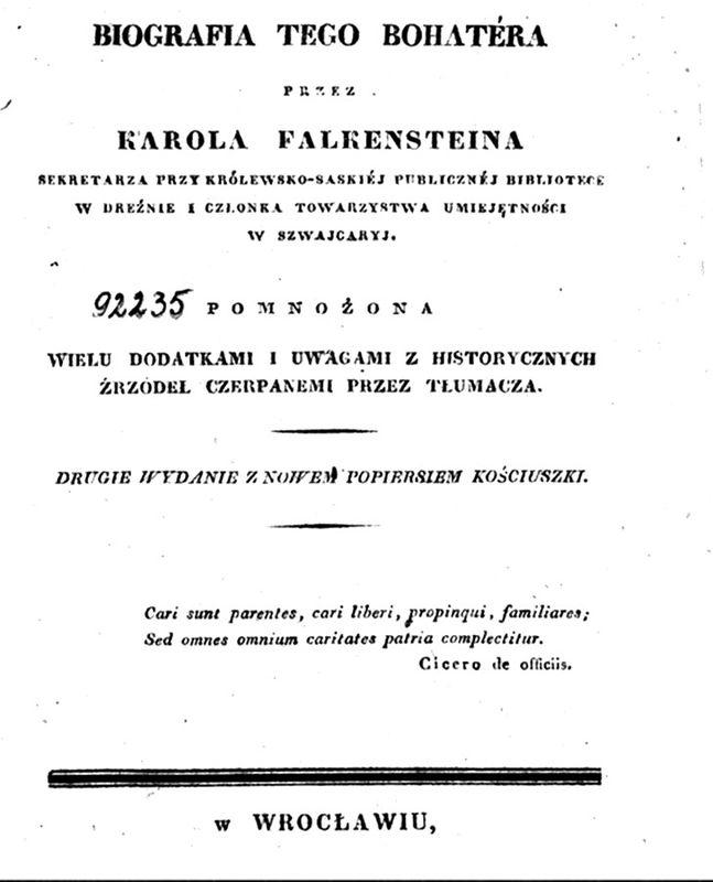 Biografia Falkensteina
