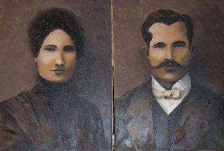 Aleksander i Julia Wiktoria z Mąkolskich Skarzyńscy herbu Bończa