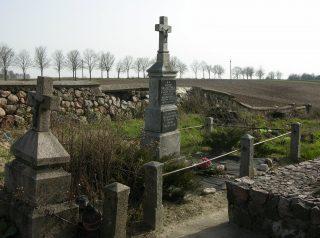 Nagrobek Józefy Pauliny z Dmochowskich i Wincentego Skarzyńskich herbu Bończa - właścicieli majątku Skarzyn Abramy